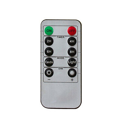 10-key Remote Control With 24-hour Timer Function For LED Flameless Candle