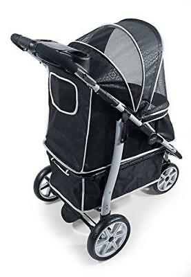 Gen7Pets Premium Monaco Stroller for Dogs and Cats up to 60lbs – Lightweight,