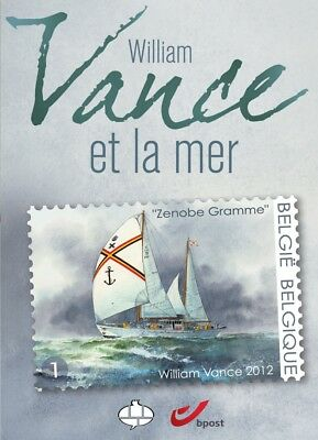 William Vance et la mer - Album Timbres CBBD - 2012
