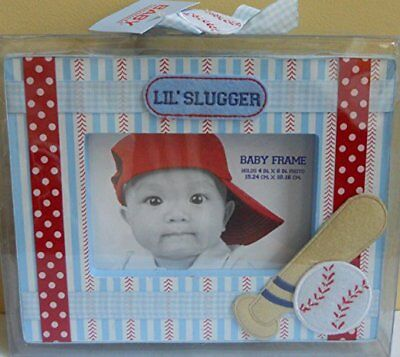Lil' Slugger Picture Frame, holds 4x6 inch Photo