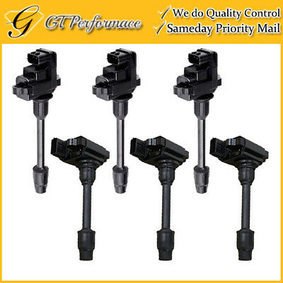 OEM QUALITY IGNITION Coil 6PCS Pack for EX35/ Altima Maxima