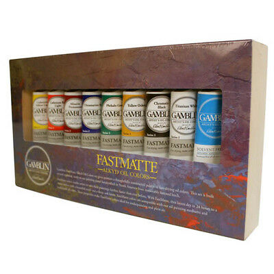 Gamblin FastMatte Alkyd Artists Oil Colours Set