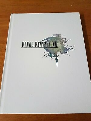 Final Fantasy XIII 13 Complete Official Strategy Game Guide Collector Edition