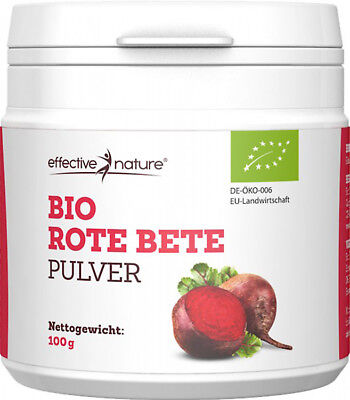 effective nature - Rote Bete Pulver - Bio - 100g
