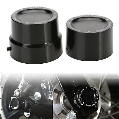 Rear Axle Nut Covers Bolt Kit For Harley Sportster XL1200 XL883 Dyna Touring
