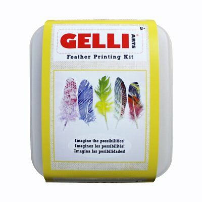 Gelli Arts Feather Printing Kit