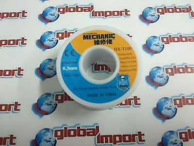 STAGNO Mechanic Diametro 0.3 mm 50 gr Rocchetto Bobina Filo Saldature Saldare