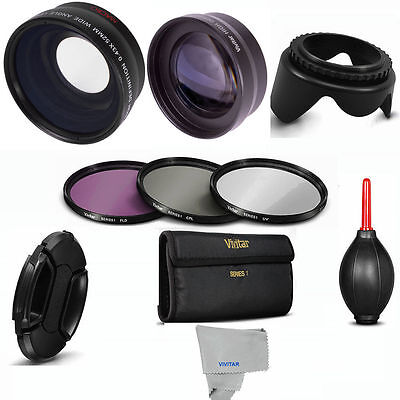 FISHEYE + MACRO + ZOOM LENS + FILTERS + HOOD FOR SONY APHA A7 III WITH 28-70mm
