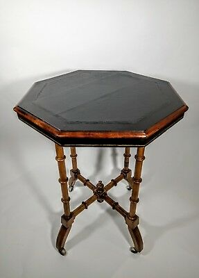 Fine Aesthetic Movement Victorian Walnut Side Table