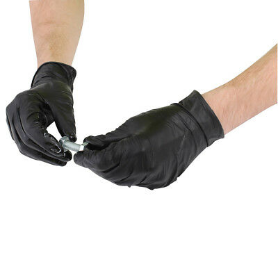 Blackrock Box 100 Nitrile Gloves Medical Hospital Surgery Disposable (HDPFNG100)