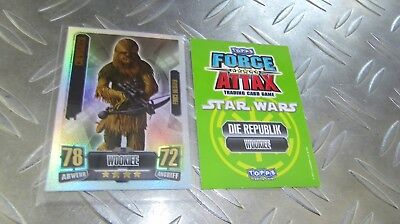 CHEWBACCA - 235 - Force Meister - Clone Wars Serie 2 - Star Wars Force Attax