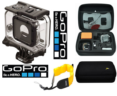 GoPro SUPER SUIT DIVE HOUSING FOR HERO5 BLACK AADIV-001+ HARD CASE + FLOAT STRAP