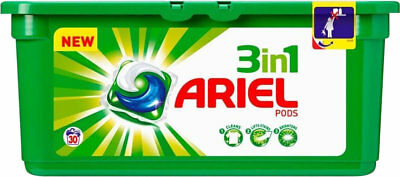 Ariel 3In1 Pods Mega-Pack  Vollwaschmittel Reinigung Cleaner