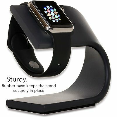Apple Watch Stand Nightstand Mode Accessories Aluminum Charging Dock Iwatch