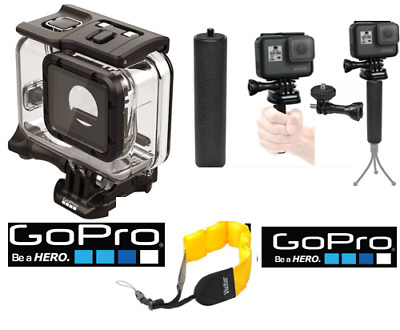 GoPro Super Suit Dive Housing for HERO5 AADIV-001+ FLOAT STRAP +STABILIZING GRIP