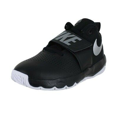 newest 1a579 b61e6 Nike Team Hustle D 8 Gs Black Silver White 881941-001 Big Kids Us Sizes