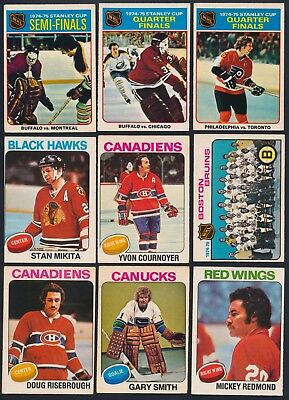 1975-76 O-Pee-Chee *Complete Your Set* cards #1-132 (see list)   $0.99- 3.00