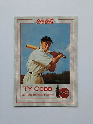 1993 Coca Cola, Ty Cobb, Series 1, Special Insert #TC-2 Trading Card