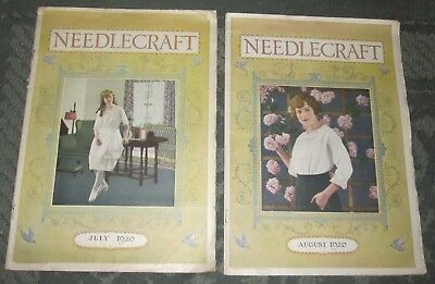 2 July 1920 And August 1920 Publications - Needlecraft