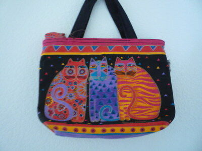 Laurel Burch Feline Friends Handbag