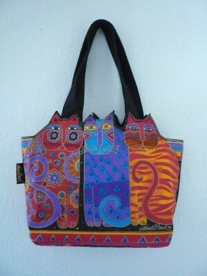 Laurel Burch Feline Friends Handbag/tote