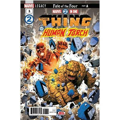 MARVEL TWO-IN-ONE ISSUE 1 - SOLD OUT FIRST 1st PRINT CHEUNG COVER MARVEL LEGACY