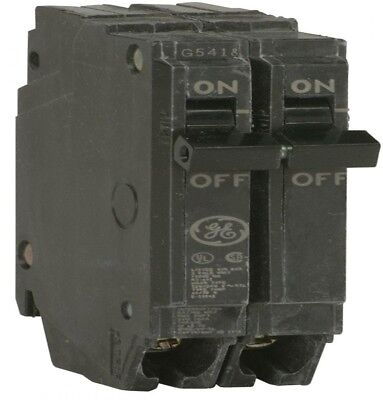 GE Q-Line 40 Amp 1 in. Double Pole Circuit Breaker Power Distribution Electrical