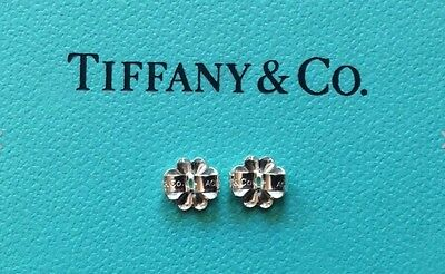 b6d8903cc8cb8 TIFFANY & CO. Sterling Pair of Butterfly Earring Backs Hallmarked AG 925  -NEW!