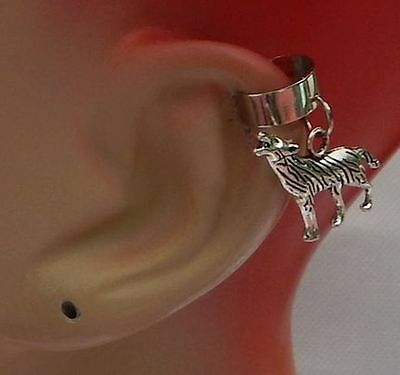 Wolf Ear Cuff Silver Charm Drop/Dangle Handmade Jewelry Accessories NEW Fashion