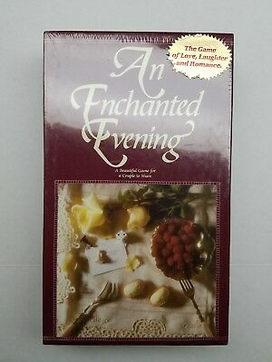 "1989 ""An Enchanted Evening"" Couples Board Game - New In Box"