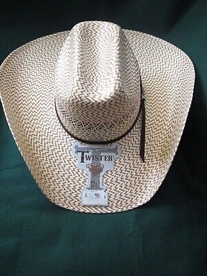 TWISTER WEAVE MAVERICK Straw Cowboy Hat - T71620 -  24.72  171936dfc