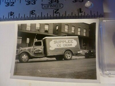 Vintage Photo-Supplee Ice Cream Delivery Truck Allentown PA 1920's