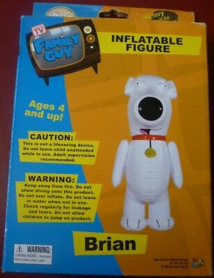 "Inflatable Brian Family Guy Figure 24"" Tall NEW"
