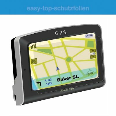 Garmin EchoMap CHIRP 72sv - 3x ANTIREFLEX FILM de protection écran - ANTI-SHOCK