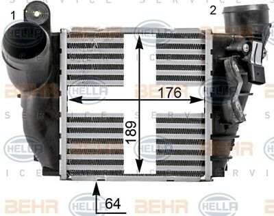 BEHR HELLA SERVICE Genuine Intercooler Charger 8ML376700-704