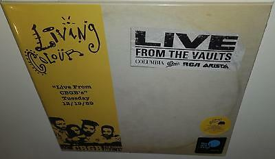 LIVING COLOUR FROM THE VAULTS: LIVE FROM CBGB's 12/19/89 2018 RSD NEW VINYL LP
