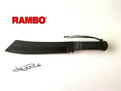 Rambo First Blood Part  IV Machete Knife Signature Edition with Sheath