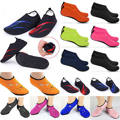 Unisex Water Shoes Slip On Aqua Socks Swim Surf Diving Yoga Exercise Reef Shoes