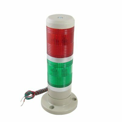 Industrial Lamps Red Green Signal Tower Lamp Warning Stack Light DC24V AC110V
