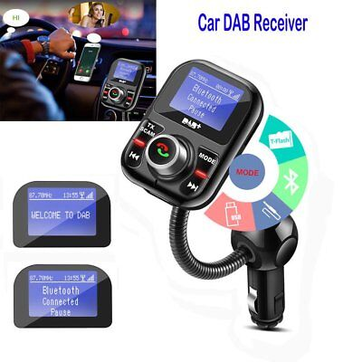 Car DAB//DAB+Digital Radio USB Adapter Receiver FM Transmitter Tuner w//Antenna KK