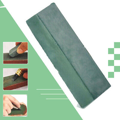 New Green Leather Strop Sharpening Abrasive Polishing Compounds Wax Leathercraft
