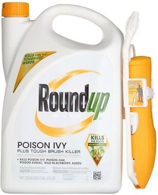 Roundup Poison Ivy and Tough Brush Killer 1.33 Gal. Ready-to-Use Comfort Wand