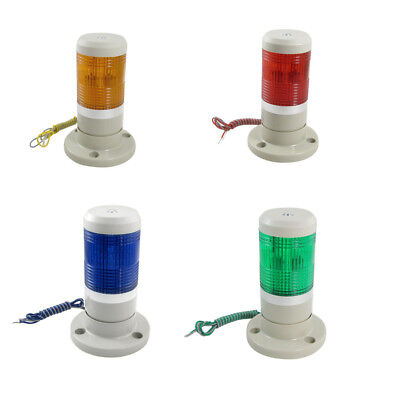 Industrial Yellow Red Green Signal Tower Warning Lamp Stack Light AC110V DC24V