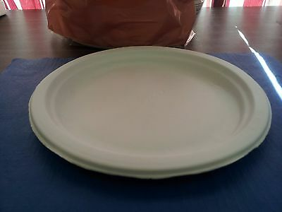 (225 Plates) Paper Plates 8 3/4\  White Chinet High Quality Microwavable & 225 PLATES) PAPER Plates 8 3/4\