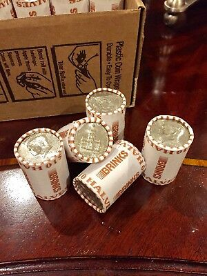 5 Unsearched Bank Sealed Half Dollar Roll Possible Silver Kennedy Franklin