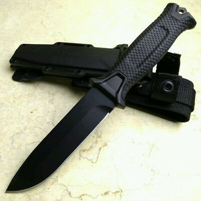 Black Color Hunting Knife camping Tactical knives Fixed Blade Knife With Sheath