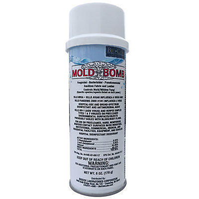 BioCide Mold Bomb Fogger...blows mold away!  EPA Registered