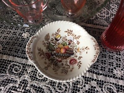 Johnson Brothers Windsor Ware Pomona Handled Cereal/Soup Bowl