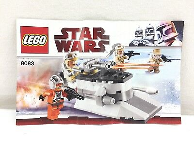 Lego 8083 Star Wars Instructions Book Only Setting Assemble Book