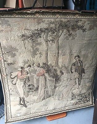 💥Vintage Tapestry Stunning 19th Century French needlework - Made In France